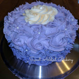 Purple Ombre Smash Cake