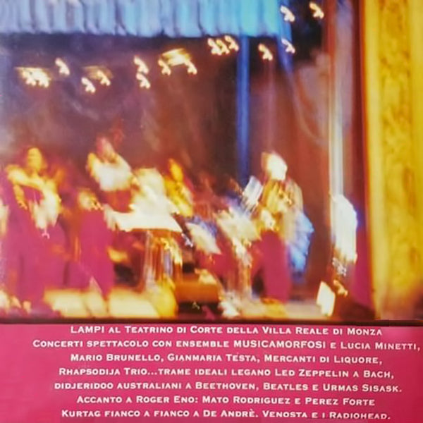 ENSEMBLE MUSCAMORFOSI - Lampi . CD
