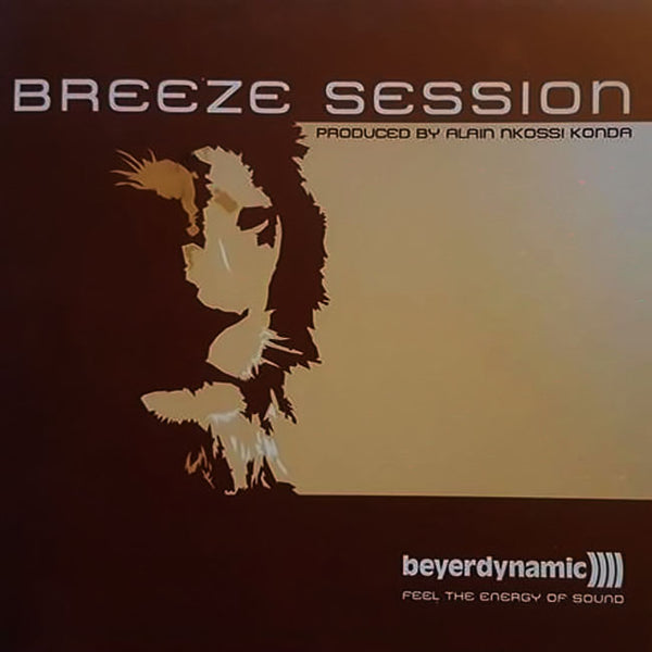 ALIAN NKOSSI KONDA - Breeze Session . CD Sleeve