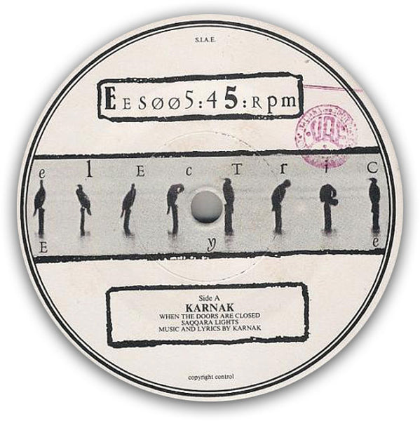KARNAK - When The Doors Are Closed . 7""