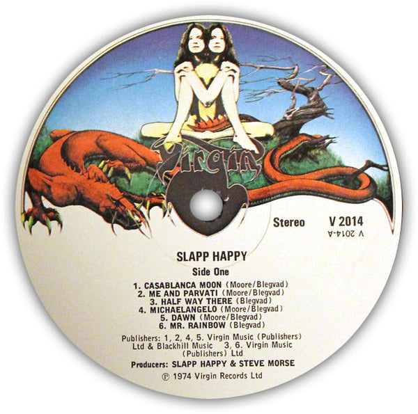 SLAPP HAPPY – Slapp Happy . LP . Label 1