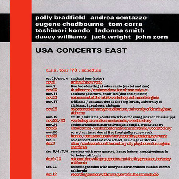 VARIOUS - Usa Concert East . CD