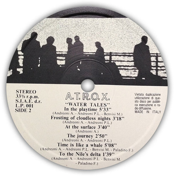 A.T.R.O.X. – Water Tales . LP . Label 2