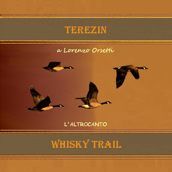 WHISKY TRAIL - Terezin . CD Sleeve