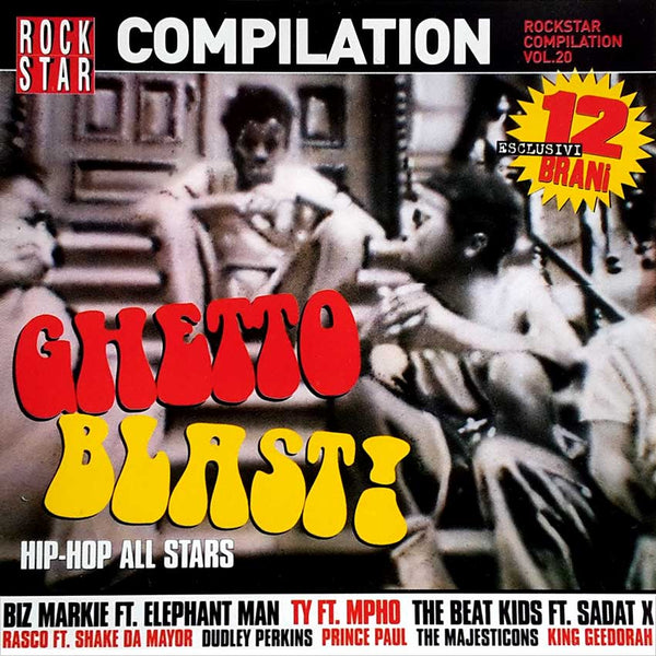 VARIOUS - Ghetto Blast! . CD