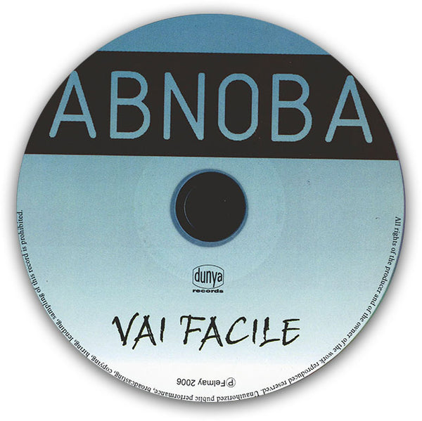 ABNOBA - Vai Facile . CD