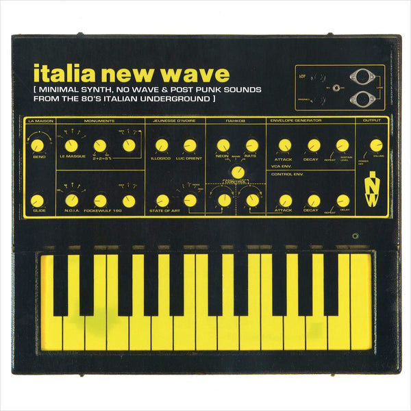 VARIOUS - Italia New Wave - Minimal Synth, New Wave, Post Punk From The 80's . LP