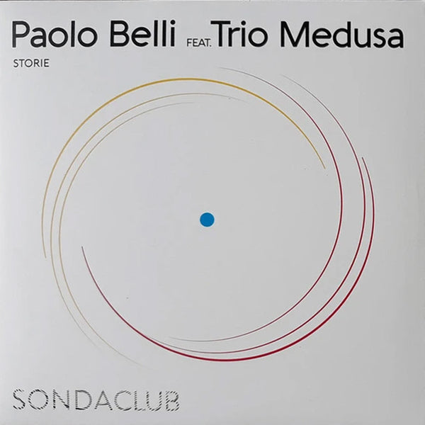 PAOLO BELLI feat. TRIO MEDUSA - Storie / NEW COLOUR - Why Did We Say Goodbye? . 7""