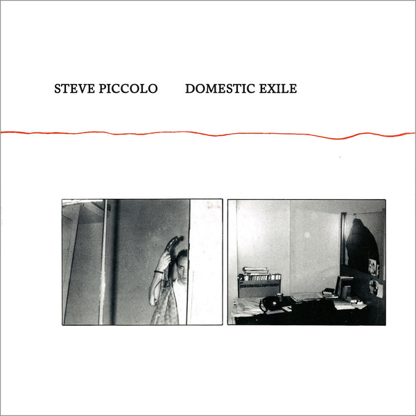 STEVE PICCOLO - Domestic Exile . LP