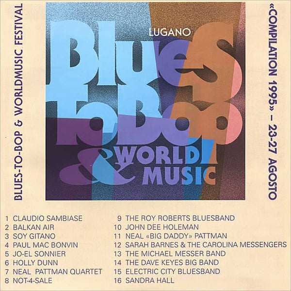 VARIOUS ARTISTS - Blues to Bop Festival 1995 . CD