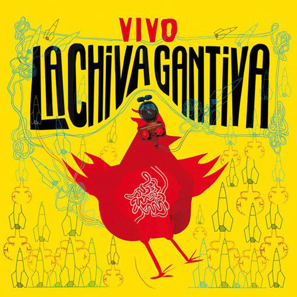 LA CHIVA GANTIVA - Vivo . CD