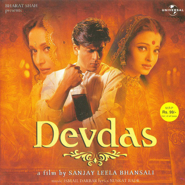 VARIOUS – Devdas (Original Motion Picture Soundtrack) . CD