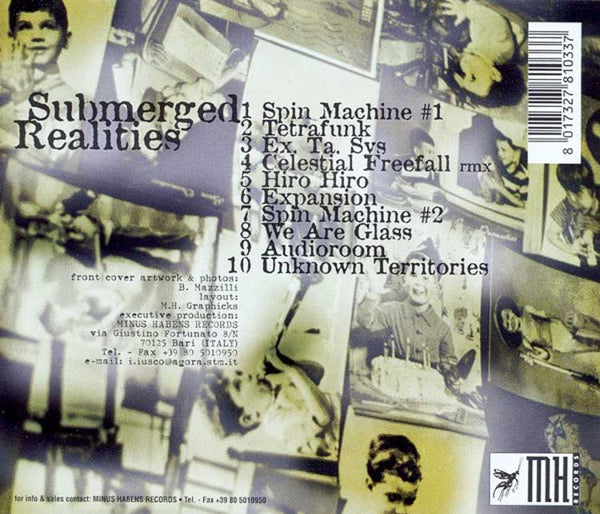 RED SECTOR A - Submerged Realities . CD