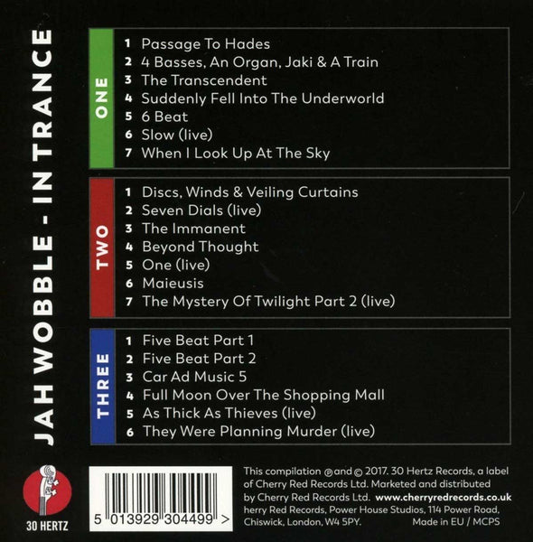 JAH WOBBLE - In Trance . 3CD