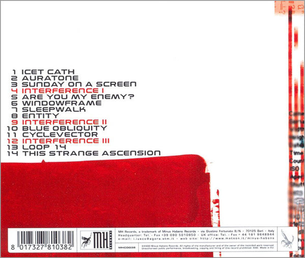RED SECTOR A - Illvminati . CD