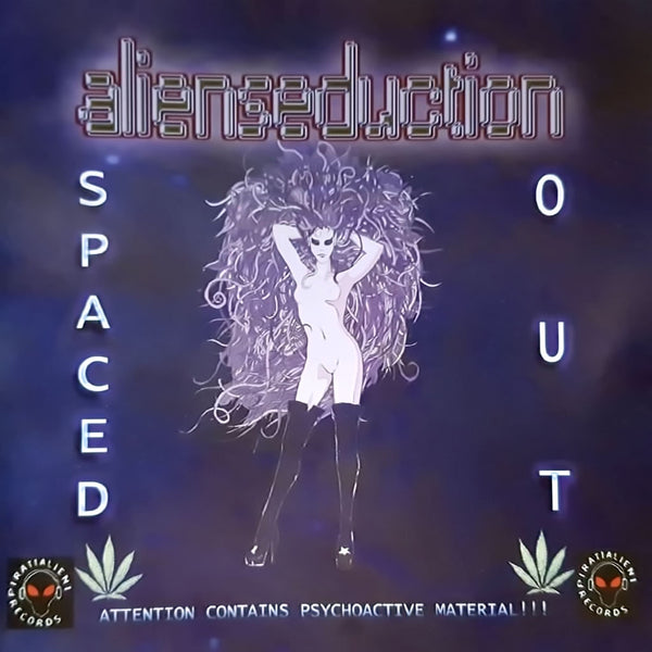 ALIENSEDUCTION - Spaced out . CD