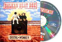 BALKAN BEAT BOX - Digital Monkey . CD sleeve