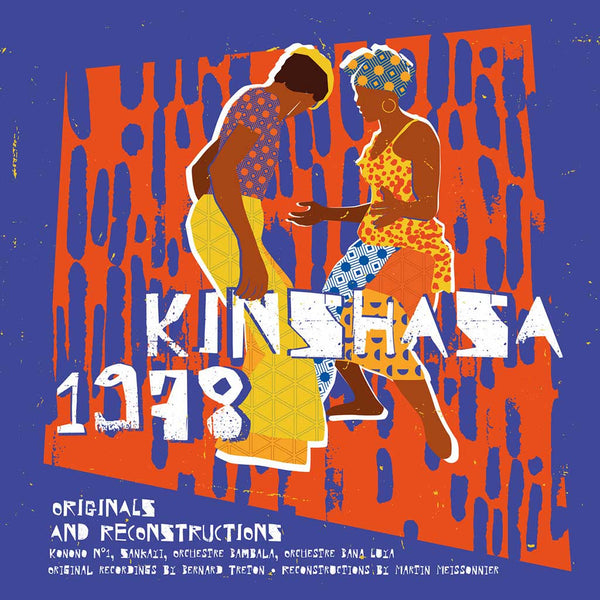 VARIOUS - Kinshasa 1978 . LP+CD