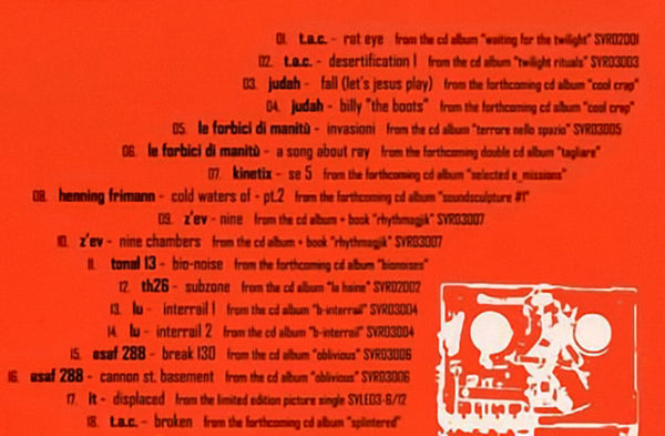 VARIOUS - Smallvoices Sampler v. 1.0 . CD sleeve