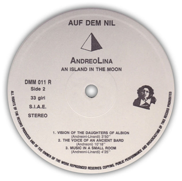 Andreolina – An Island In The Moon . LP . Label B