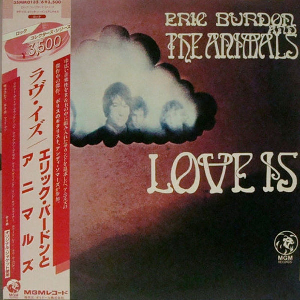 ERIC BURDON AND THE ANIMALS ‎– Love Is . 2LP