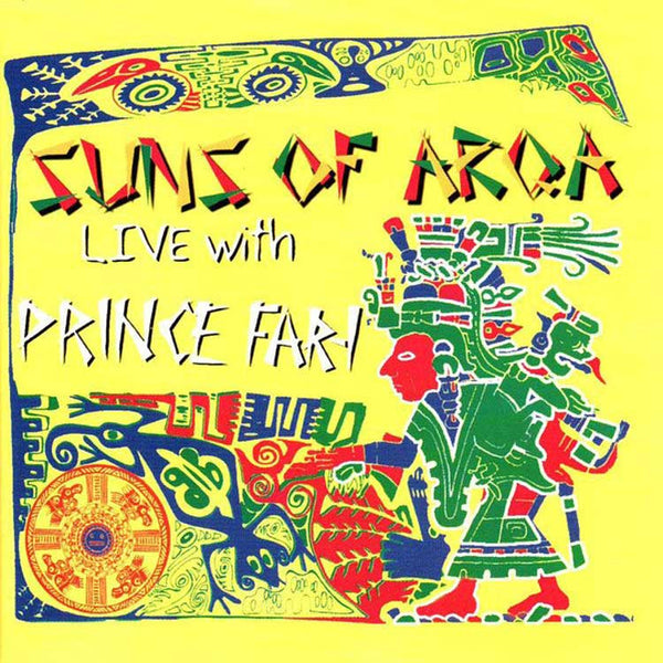 SUNS OF ARQA - Live With Prince Far-I . CD