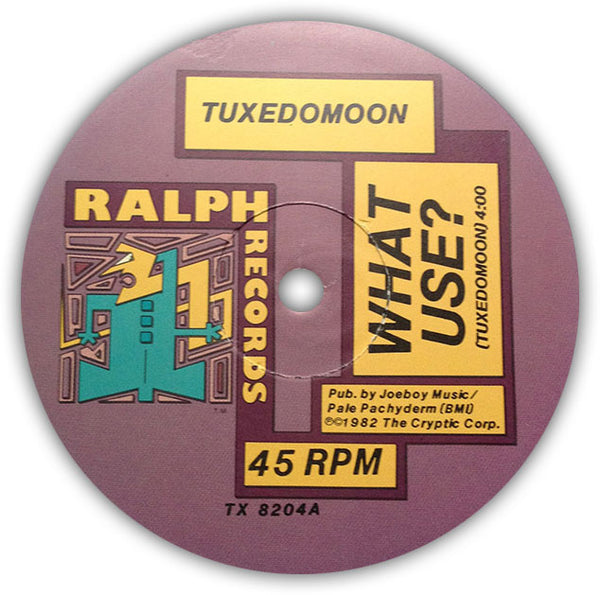"TUXEDOMOON – What Use? (Remix) . 12"" . Label 1"