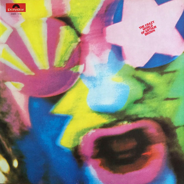 THE CRAZY WORLD OF ARTHUR BROWN – The Crazy World Of Arthur Brown . LP