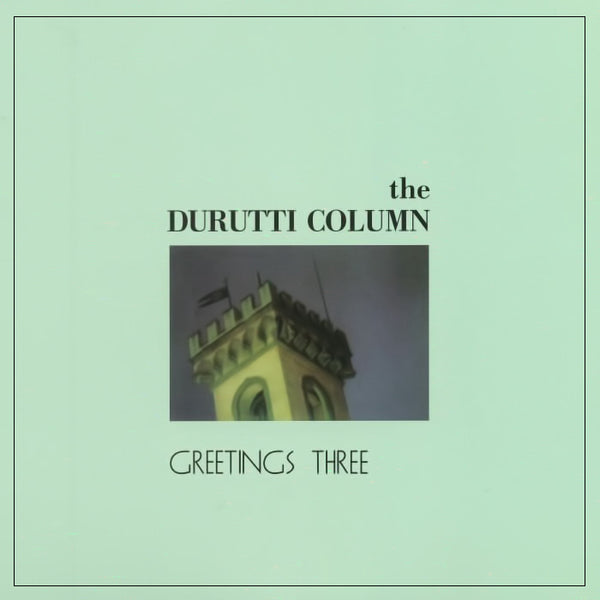 THE DURUTTI COLUMN - Greetings Three . EP/LP