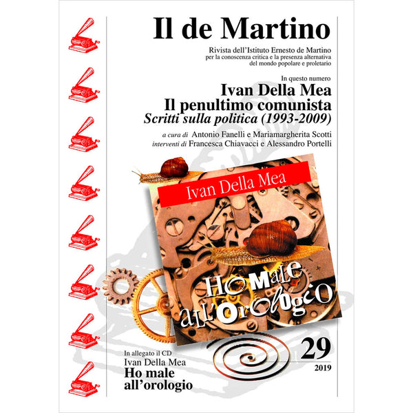 Il de Martino - Rivista n. 29 - 2019 . Book+CD