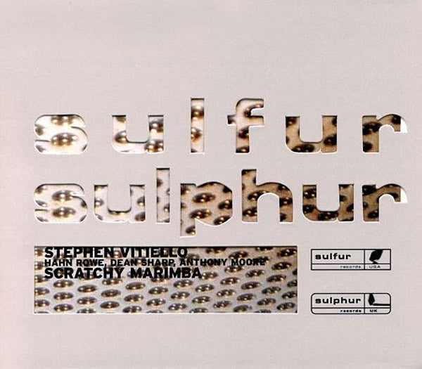 STEPHEN VITIELLO - Scratchy Marimba . CD