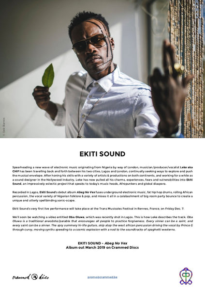 EKITI SOUND - Abeg No Vex . CD