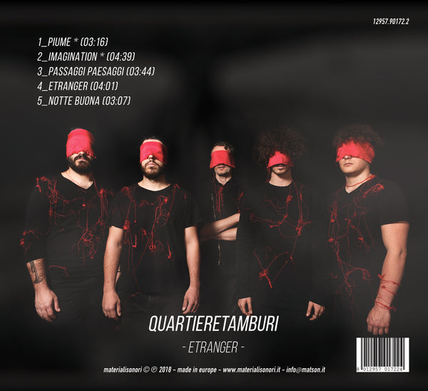 QUARTIERE TAMBURI - Etranger . CD/EP