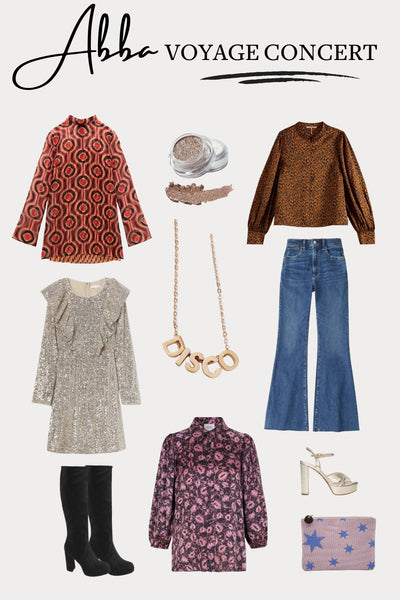 ABBA Voyage Concert Outfit Ideas