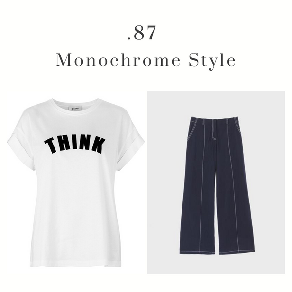 Think Tee and Emin & Paul Trousers