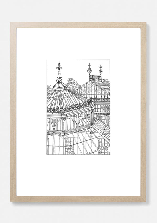 Temperate House Kew Gardens Architectural Print