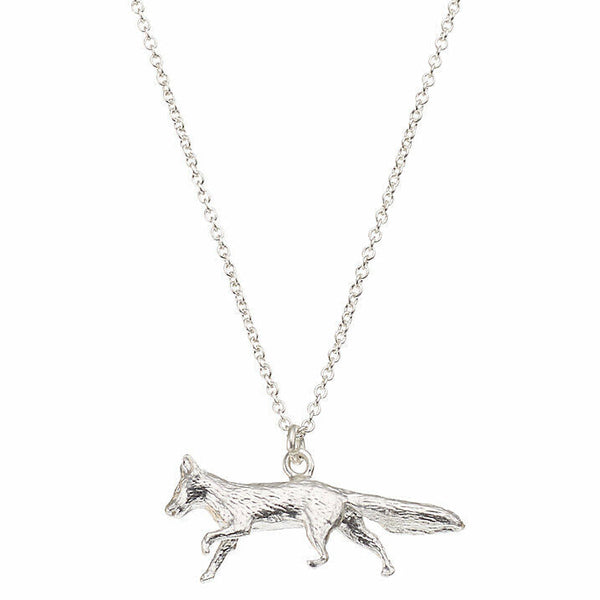 Alex Monroe Prowling Fox Necklace