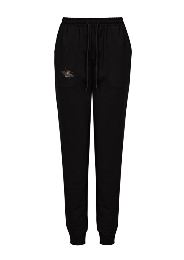 Bertie Bee Nooki Women's Black Joggers Sweatpants