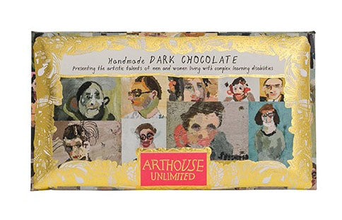 Arthouse Portraits Handmade Dark Chocolate