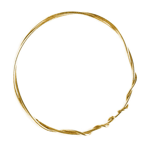 Alex Monroe Classic Twist Bangle
