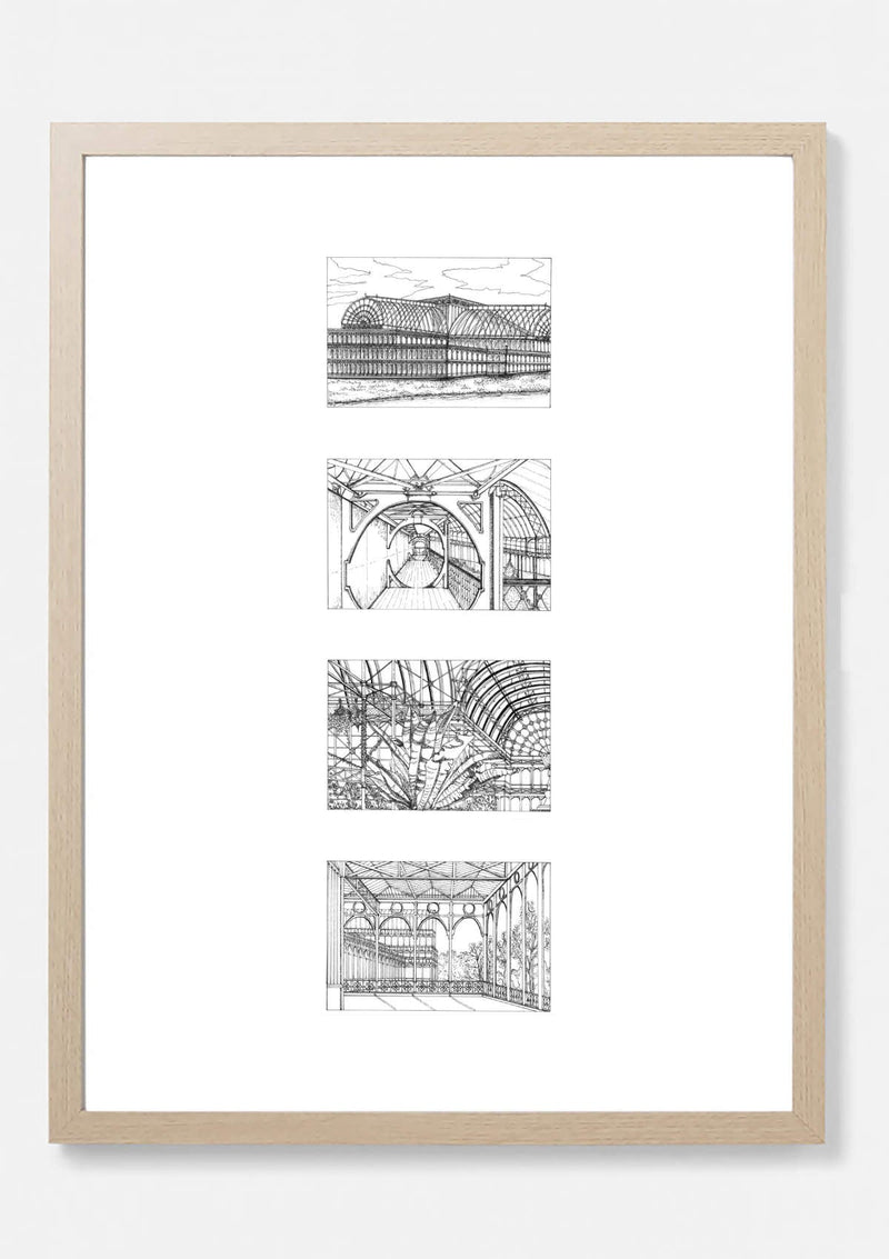Crystal Palace Architectural Print