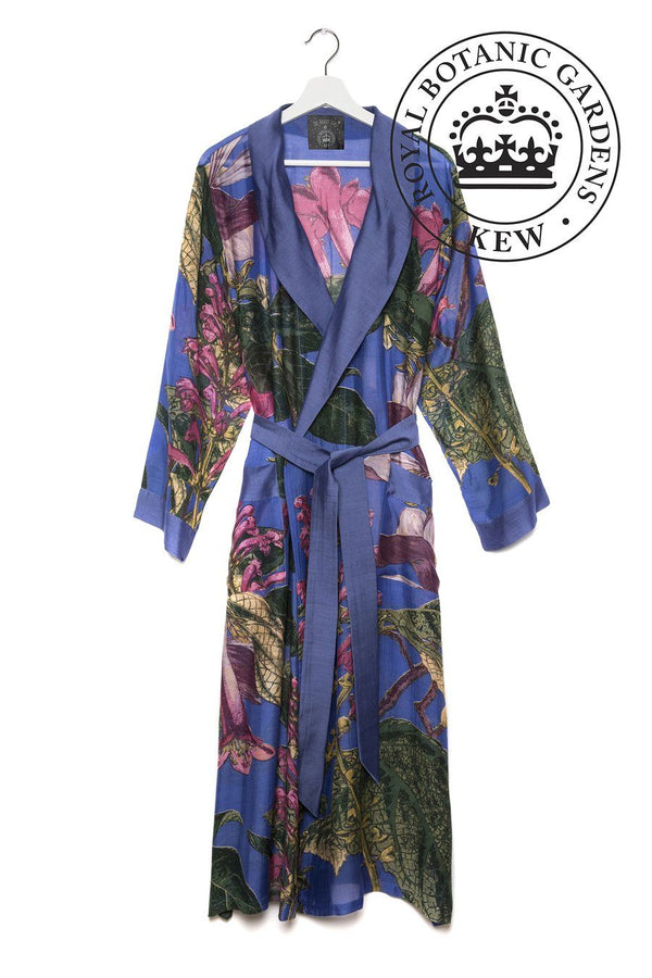 One Hundred Stars Kew Gardens Magnolia Flower Dressing Gown
