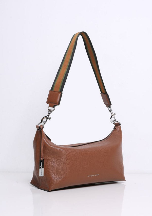 Leather Crossbody/back Handbag | Willow | Camel | Smaak Amsterdam