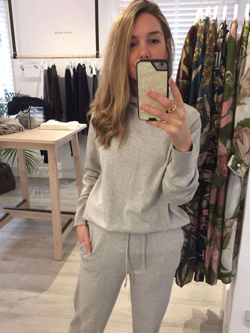 Lucy Jogger Pant | Lounge Wear | Chalk