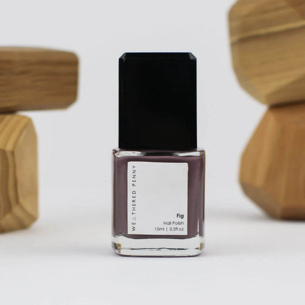 A Weathered Penny Fig Nail Varnish