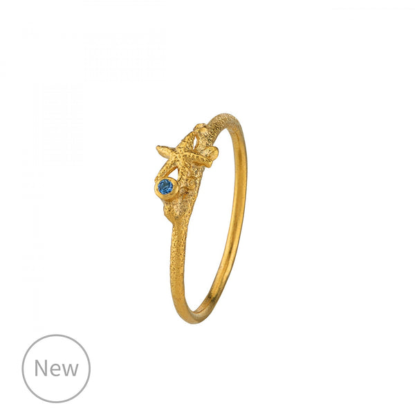 Alex Monroe Starfish Stacking Ring