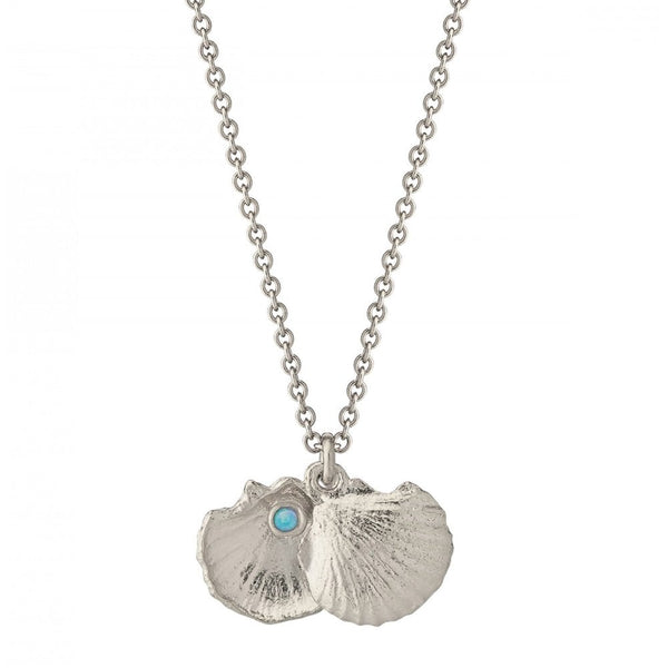Alex Monroe Open Shell Necklace