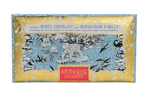 Arthouse The Freeze Handmade White Chocolate with Madagascan Vanilla