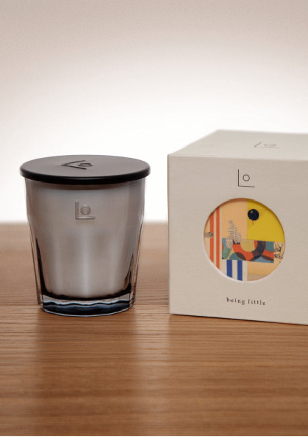Natural Wax Mallow & Neroli Scented Candle | LO Studio