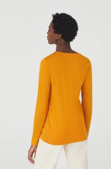 Nice Things Wool Basic Long Sleeve T-Shirt